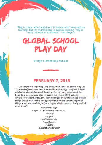 Global School Play