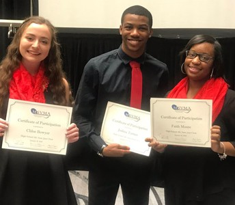 WBHS All-State Jazz Choir students