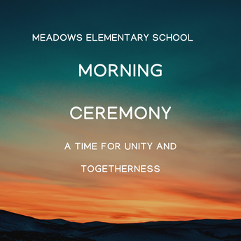"""Morning Ceremony and School- Wide Theme """"Reach for the Stars"""""""