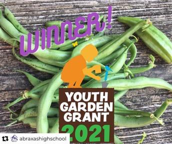 Abraxas High School Receives Gardening Grant