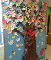 The 1st Annual Evansdale Thankful Tree