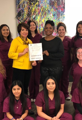 Cosmetology Earns Perfect Inspection
