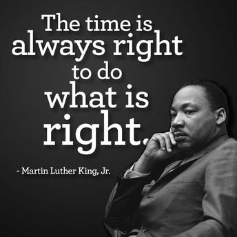 No School/MLK, Jr. Day - Monday, January 18th