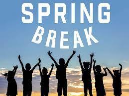 Spring Break April 5-9