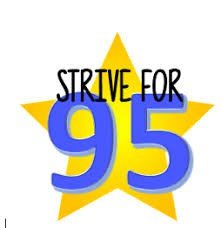 Strive for 95!