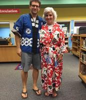 Mr. Lamanna and Mrs. Clark