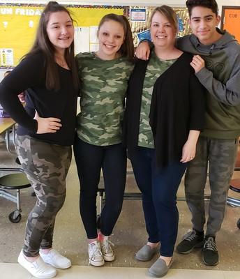 Teacher and Triplets!