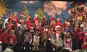 Kindergarteners: A Holiday Celebration