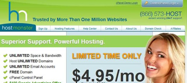 hostmonster coupon 67% offer