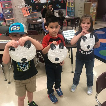 PWE PK students learn about winter and arctic animals.