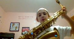 Mollie Plays the Saxophone