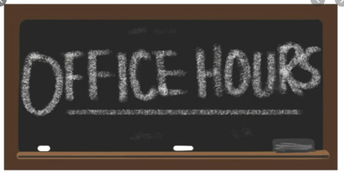 Tuesday Office Hours