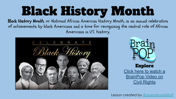 Black History Month Hyperdoc