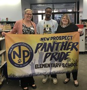 Panther Pride Staff