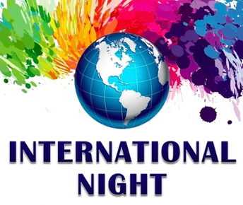 International Night is Thursday, January 25th 6:00-8:00 p.m.
