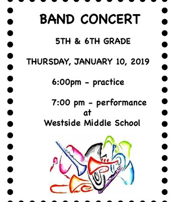 5th/6th Grade Band Concert