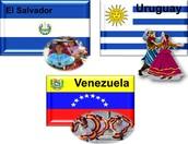 EL SALVADOR, URUGUAY, VENEZUELA