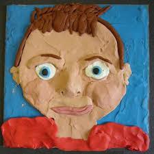 Plasticine Portraits Gr. 3 & 4