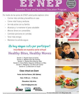 Clases de nutrición - Burges High School