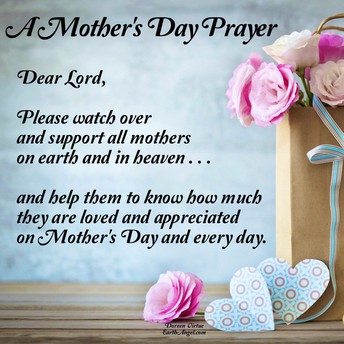 BLESSINGS TO ALL OUR WONDERFUL MUMS AND GRANDMOTHERS