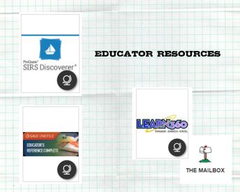 Teacher Resources - Educator Resources
