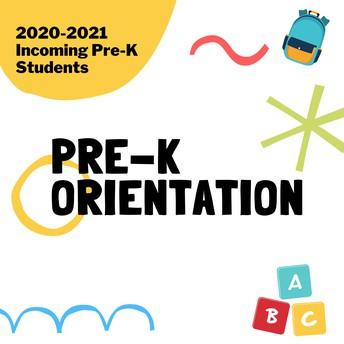 2020-2021 PreK Orientation