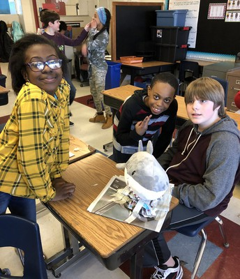 5th grade STEM Challenge