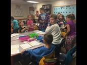 2nd Grade earned a Pajama Day!