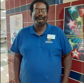MR. SAMMIE JOHNSON , CNP WORKER AT HUNTSVILLE HIGH SCHOOL