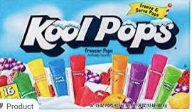 KOOL POP DRIVE WAY DROP OFF