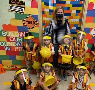 "Pre-k 4 ""Under Construction"" Theme at Parks Elementary"