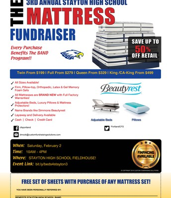 In need of a new mattress?