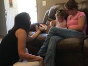 Jordyn, Mommy & Ms. Lori