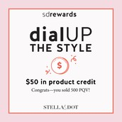 50 in Product Credit Rewarded to: