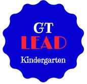 Kindergarten Gifted & Talented LEAD