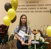 GPISD Spelling Bee Winner