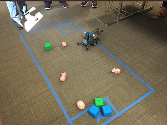 Technology in Motion Training: Robots and Coding!