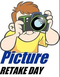 Picture Re-Take Day-THIS WEDNESDAY, DECEMBER 9TH