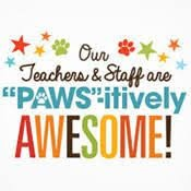 Fall Teacher & Staff Appreciation Week - October 5th -9th