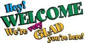 Welcome NEW TEACHER!!