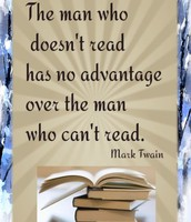 MARK TWAIN QUOTE ABOUT READING
