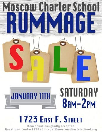 Rummage Sale: