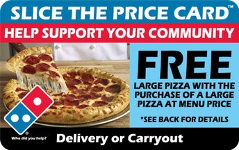 Domino's Pizza Fundraiser