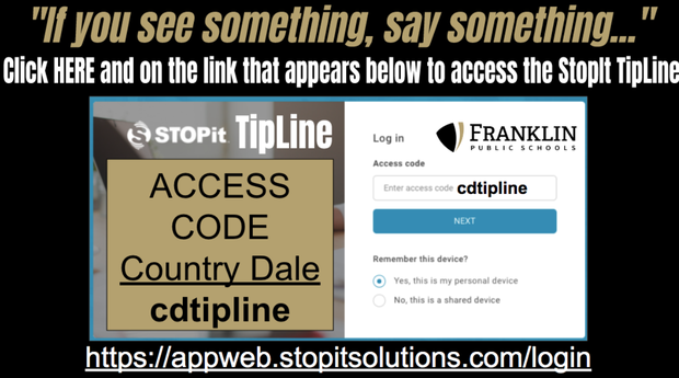 Click here for tipline