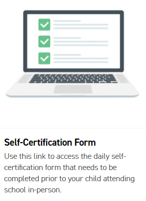 Self Certification by 7:30 AM