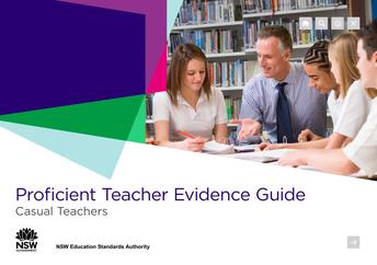 Proficient Teacher Evidence Guide: Casual Teachers
