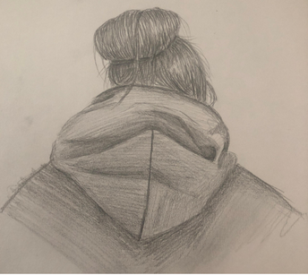 Back of the Head Portrait