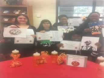 October Literacy Competition Winners