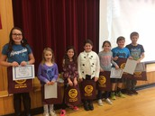 Our Citizens of the Month for September