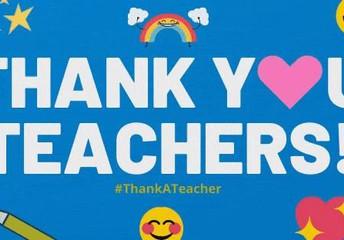Teacher Appreciation Week is May 3-7, 2021